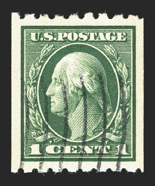 Price of US Stamp Scott Cat. #410: 1c 1912 Washington Coil. Spink Shreves Galleries, Mar 2013, Sale 142, Lot 355