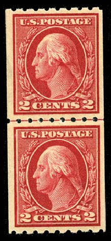 Cost of US Stamp Scott Catalog #411 - 2c 1912 Washington Coil. Matthew Bennett International, Mar 2012, Sale 344, Lot 4565
