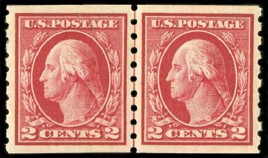 Prices of US Stamps Scott Catalog # 413: 2c 1912 Washington Coil. Spink Shreves Galleries, Jul 2015, Sale 151, Lot 294