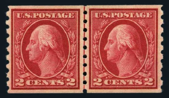 US Stamps Prices Scott Catalogue # 413: 2c 1912 Washington Coil. Harmer-Schau Auction Galleries, Aug 2014, Sale 102, Lot 2015