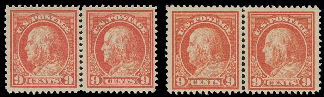 Price of US Stamp Scott Catalogue 415 - 1914 9c Franklin Perf 12. H.R. Harmer, May 2014, Sale 3005, Lot 1272