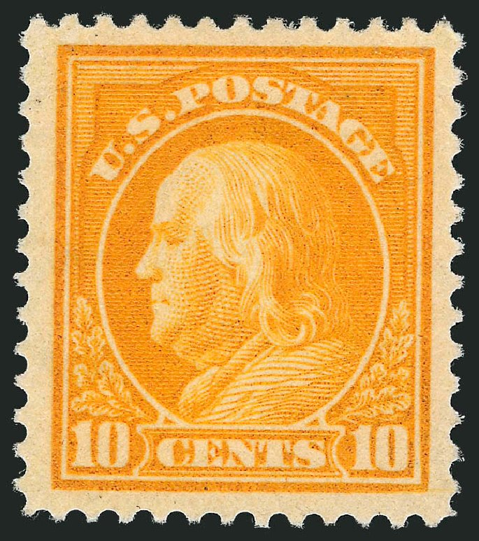 US Stamps Price Scott Catalogue #416: 10c 1912 Franklin Perf 12. Robert Siegel Auction Galleries, Nov 2013, Sale 1061, Lot 3904