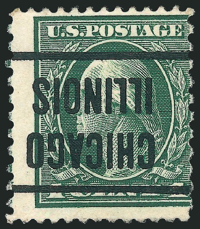 US Stamp Price Scott Cat. #423A - 1c 1914 Washington 12x10. Robert Siegel Auction Galleries, Dec 2010, Sale 1001, Lot 2014