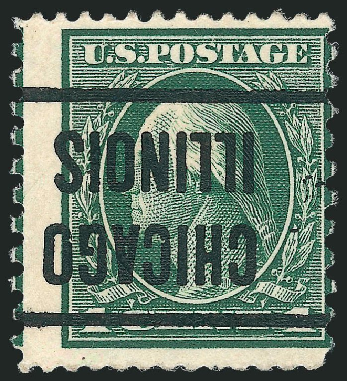 US Stamp Price Scott 423A: 1914 1c Washington 12x10. Robert Siegel Auction Galleries, Dec 2010, Sale 1001, Lot 2013