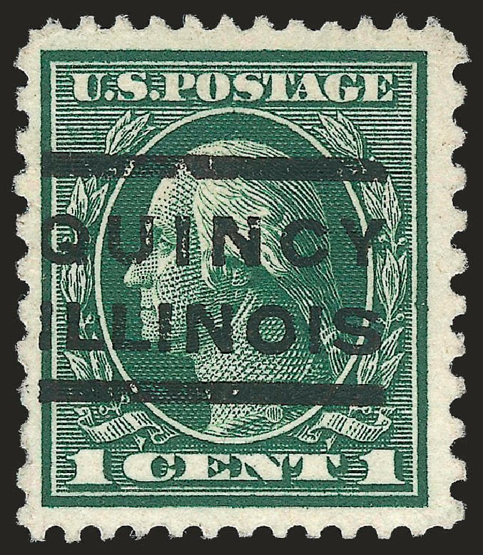 US Stamp Prices Scott # 423A - 1914 1c Washington 12x10. Robert Siegel Auction Galleries, Jun 2010, Sale 989, Lot 186