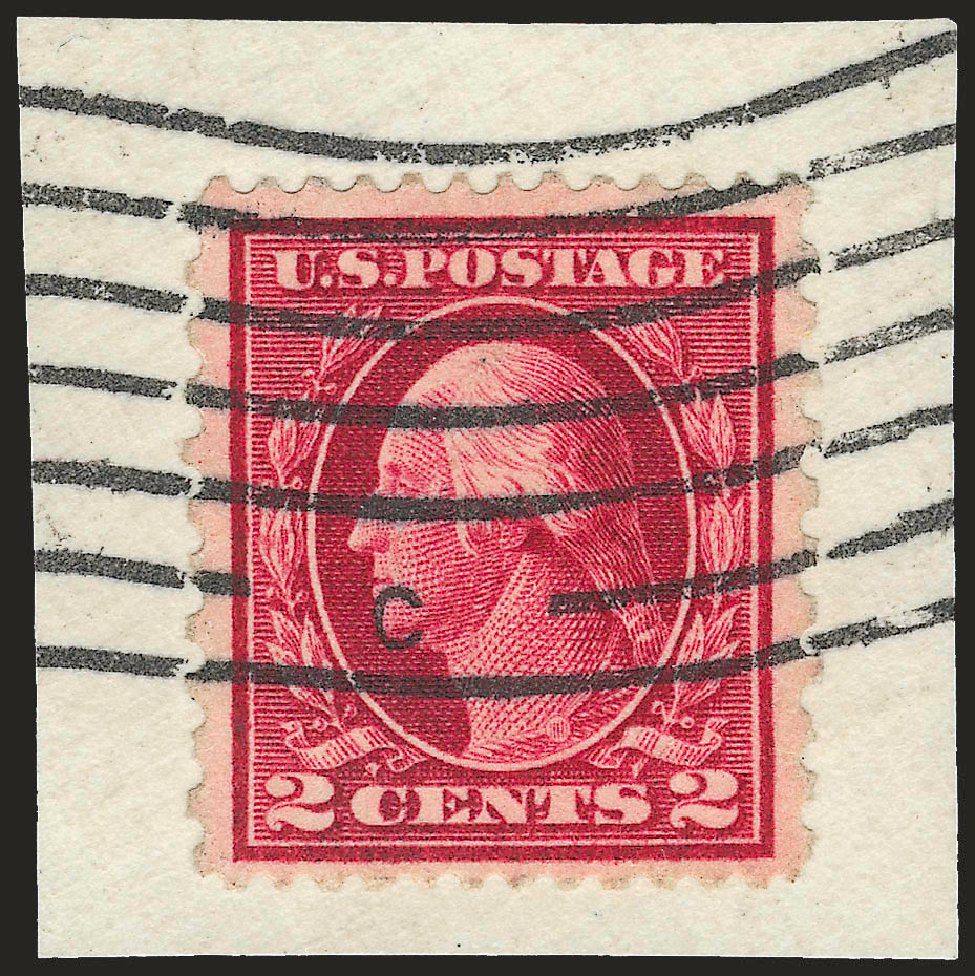 Prices of US Stamps Scott Catalogue # 423B - 2c 1915 Washington 12x10. Robert Siegel Auction Galleries, Jun 2010, Sale 989, Lot 187