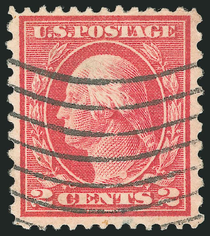 Values of US Stamps Scott Catalogue #423B: 2c 1915 Washington 12x10. Robert Siegel Auction Galleries, Feb 2015, Sale 1093, Lot 289