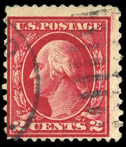 Prices of US Stamps Scott Catalogue #423B: 2c 1915 Washington 12x10. Matthew Bennett International, Feb 2015, Sale 351, Lot 186