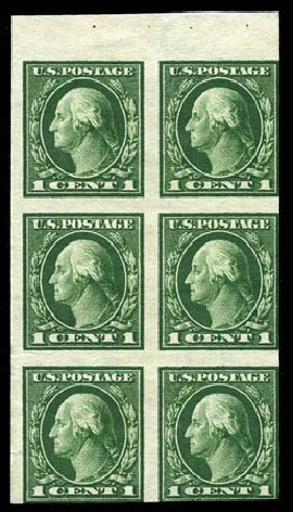 Prices of US Stamps Scott 424: 1914 1c Washington Perf 10. Matthew Bennett International, Mar 2012, Sale 344, Lot 4578