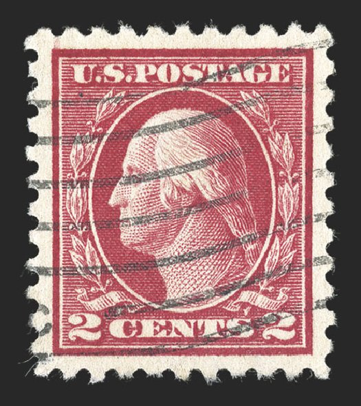 Value of US Stamps Scott Catalogue #425: 2c 1914 Washington Perf 10. Spink Shreves Galleries, Jul 2012, Sale 140, Lot 267