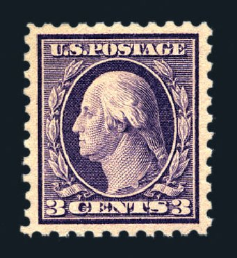 Costs of US Stamps Scott Cat. 426 - 3c 1914 Washington Perf 10. Harmer-Schau Auction Galleries, Aug 2015, Sale 106, Lot 1815