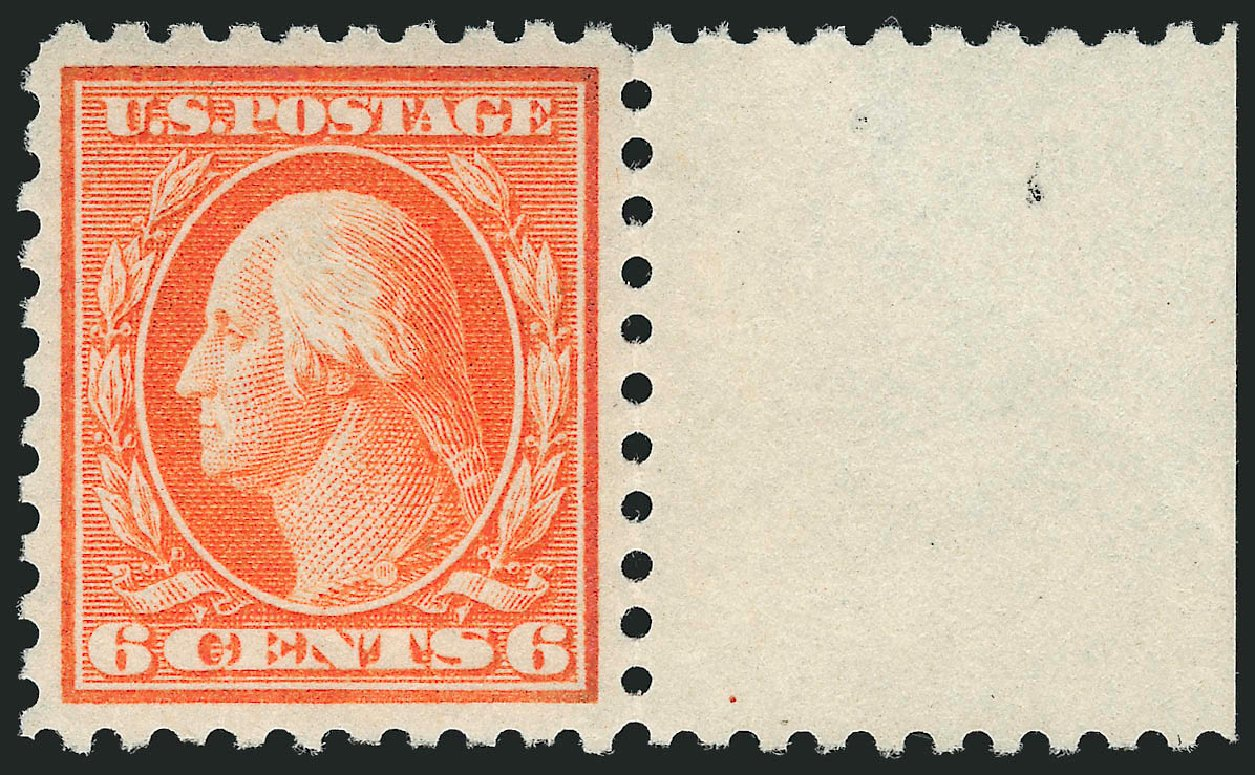 Price of US Stamps Scott #429: 1914 6c Washington Perf 10. Robert Siegel Auction Galleries, Dec 2014, Sale 1090, Lot 1507