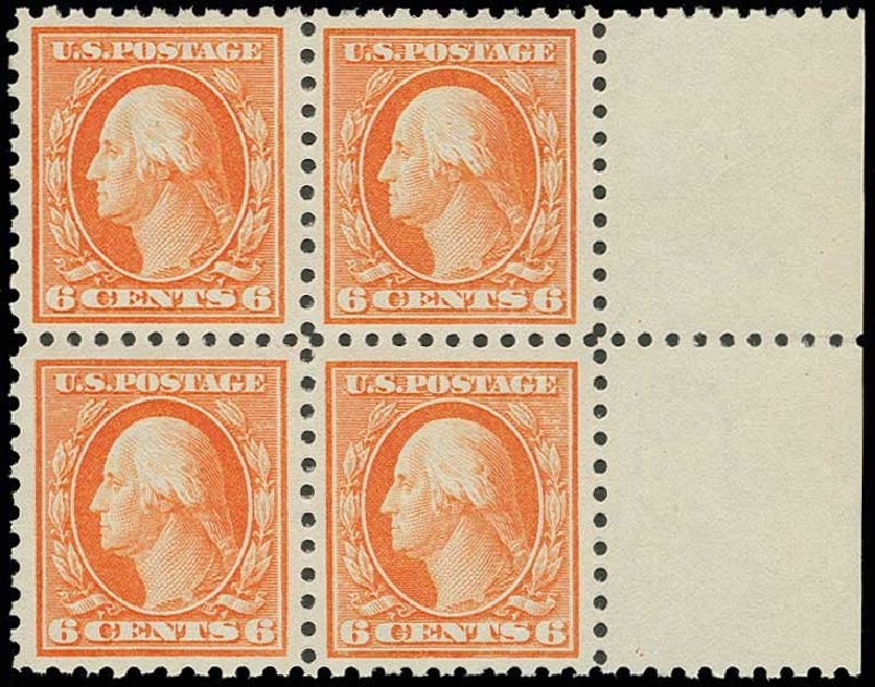 Cost of US Stamp Scott Catalogue #429: 1914 6c Washington Perf 10. H.R. Harmer, Jun 2013, Sale 3003, Lot 1303