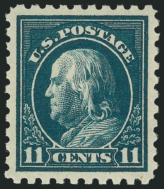 US Stamp Price Scott # 434: 1915 11c Franklin Perf 10. Robert Siegel Auction Galleries, Nov 2012, Sale 1034, Lot 404