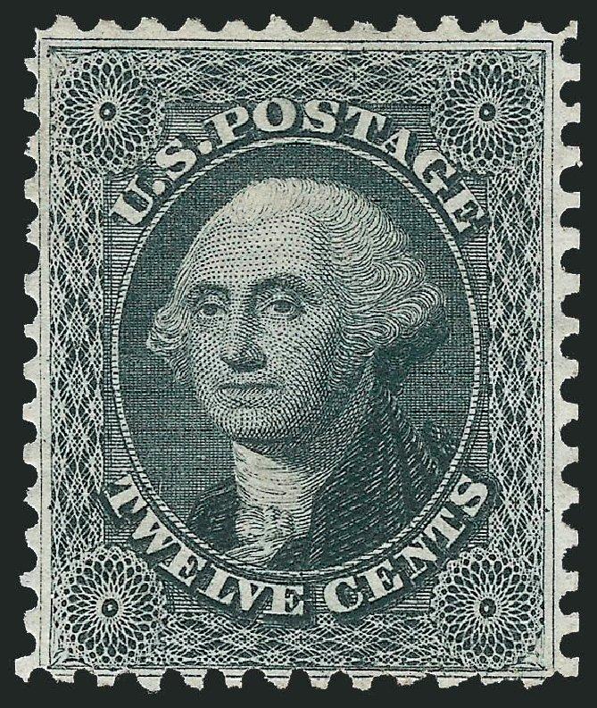 Value of US Stamps Scott 44 - 12c 1875 Washington Reprint. Robert Siegel Auction Galleries, Mar 2013, Sale 1040, Lot 1280