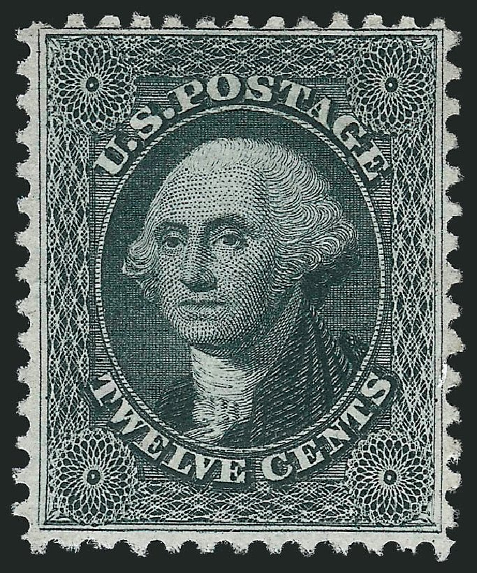 Prices of US Stamps Scott Cat. # 44: 1875 12c Washington Reprint. Robert Siegel Auction Galleries, Apr 2015, Sale 1096, Lot 100