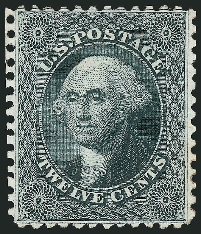 Costs of US Stamps Scott Cat. #44 - 12c 1875 Washington Reprint. Robert Siegel Auction Galleries, Sep 2014, Sale 1078, Lot 142