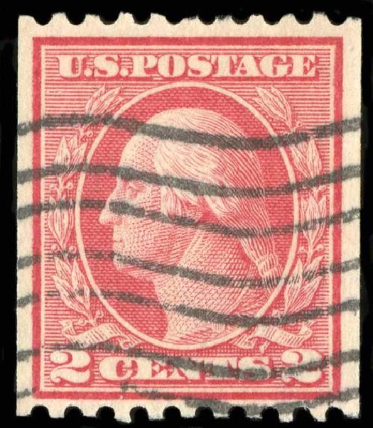 Costs of US Stamp Scott # 449 - 2c 1915 Washington Coil Perf 10 Horizontally. Spink Shreves Galleries, Jul 2015, Sale 151, Lot 301