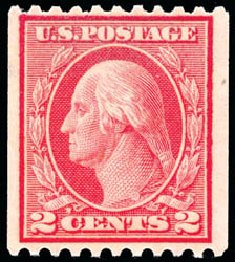 Price of US Stamp Scott Cat. # 449: 2c 1915 Washington Coil Perf 10 Horizontally. Schuyler J. Rumsey Philatelic Auctions, Apr 2015, Sale 60, Lot 2396