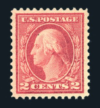 Values of US Stamp Scott Catalogue # 461: 2c 1915 Washington Perf 11. Harmer-Schau Auction Galleries, Aug 2015, Sale 106, Lot 1837