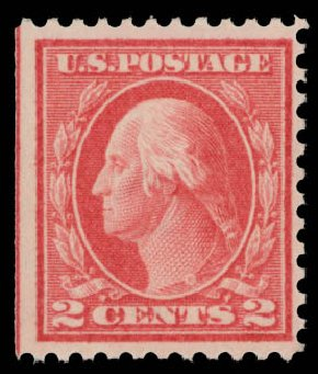 Costs of US Stamp Scott # 461 - 2c 1915 Washington Perf 11. Daniel Kelleher Auctions, May 2015, Sale 669, Lot 3049