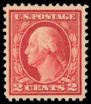 Costs of US Stamp Scott Cat. # 461 - 1915 2c Washington Perf 11. Daniel Kelleher Auctions, May 2015, Sale 669, Lot 3050