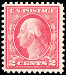Price of US Stamp Scott Catalog 461: 2c 1915 Washington Perf 11. Schuyler J. Rumsey Philatelic Auctions, Apr 2015, Sale 60, Lot 2401