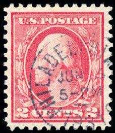 US Stamp Values Scott Catalog # 461 - 2c 1915 Washington Perf 11. Schuyler J. Rumsey Philatelic Auctions, Apr 2015, Sale 60, Lot 2402