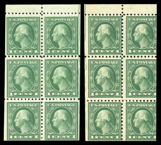 Cost of US Stamp Scott Cat. 462: 1916 1c Washington Perf 10. Matthew Bennett International, Sep 2010, Sale 331, Lot 838