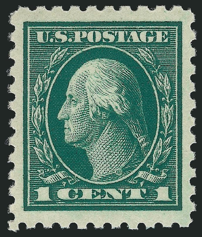 Costs of US Stamp Scott # 462 - 1c 1916 Washington Perf 10. Robert Siegel Auction Galleries, Nov 2012, Sale 1034, Lot 432