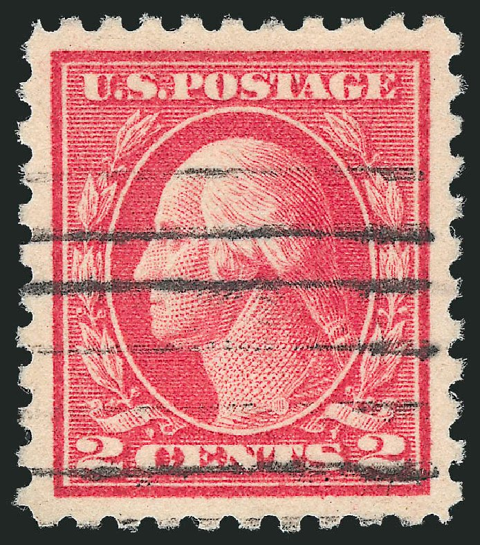 Value of US Stamps Scott Catalog # 463 - 2c 1916 Washington Perf 10. Robert Siegel Auction Galleries, Oct 2011, Sale 1014, Lot 1958