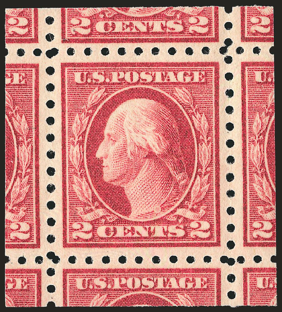 US Stamps Price Scott Cat. # 463: 2c 1916 Washington Perf 10. Robert Siegel Auction Galleries, Sep 2009, Sale 968B, Lot 608