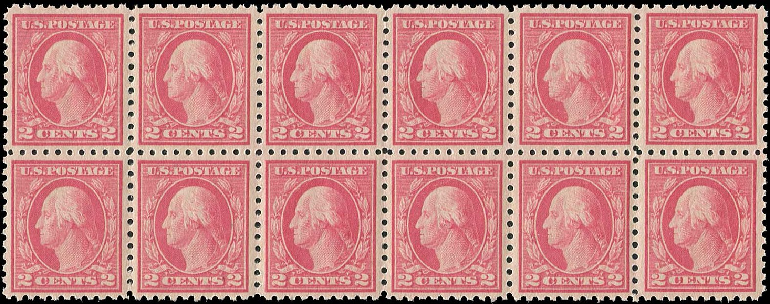 Cost of US Stamps Scott 463: 2c 1916 Washington Perf 10. Regency-Superior, Aug 2015, Sale 112, Lot 861