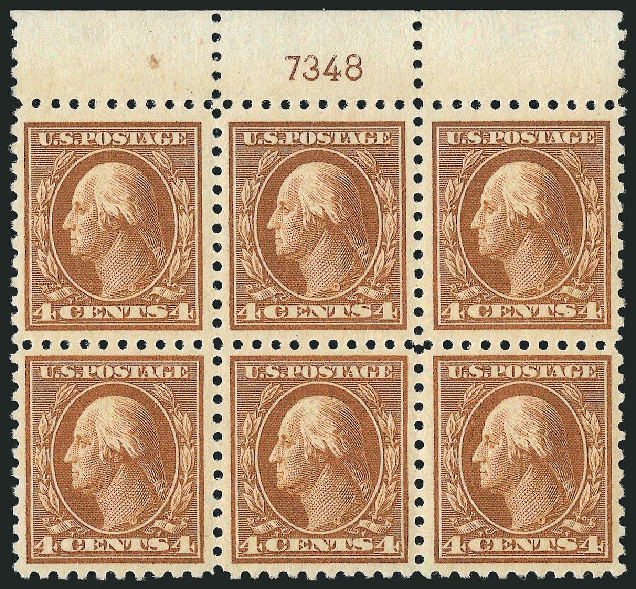 Cost of US Stamp Scott Catalogue #465 - 4c 1916 Washington Perf 10. Robert Siegel Auction Galleries, Feb 2015, Sale 1093, Lot 384