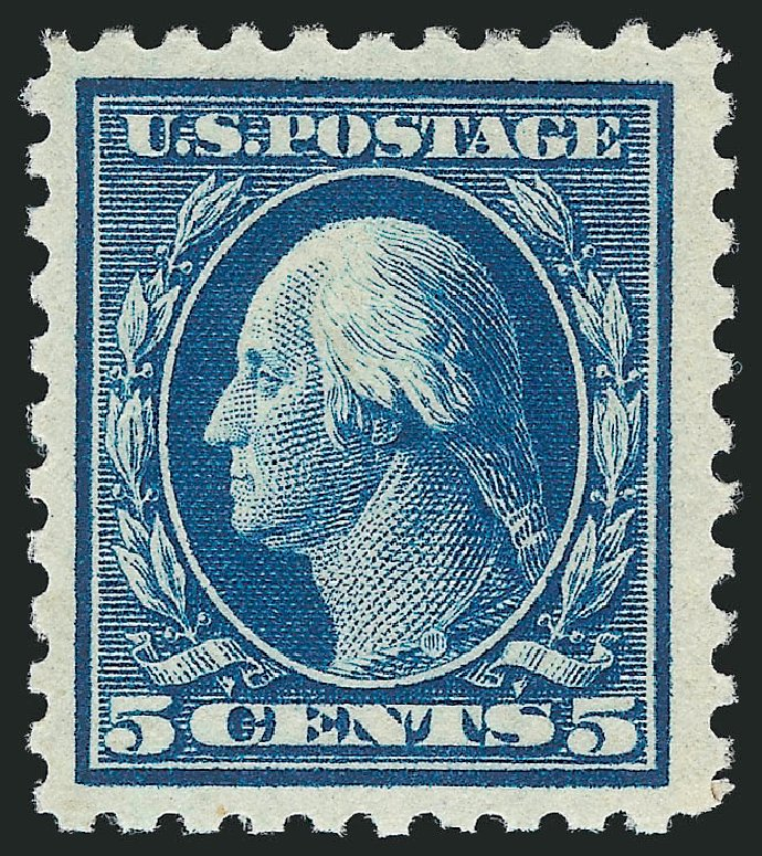 Prices of US Stamp Scott Catalog #466 - 5c 1916 Washington Perf 10. Robert Siegel Auction Galleries, Dec 2014, Sale 1090, Lot 1532