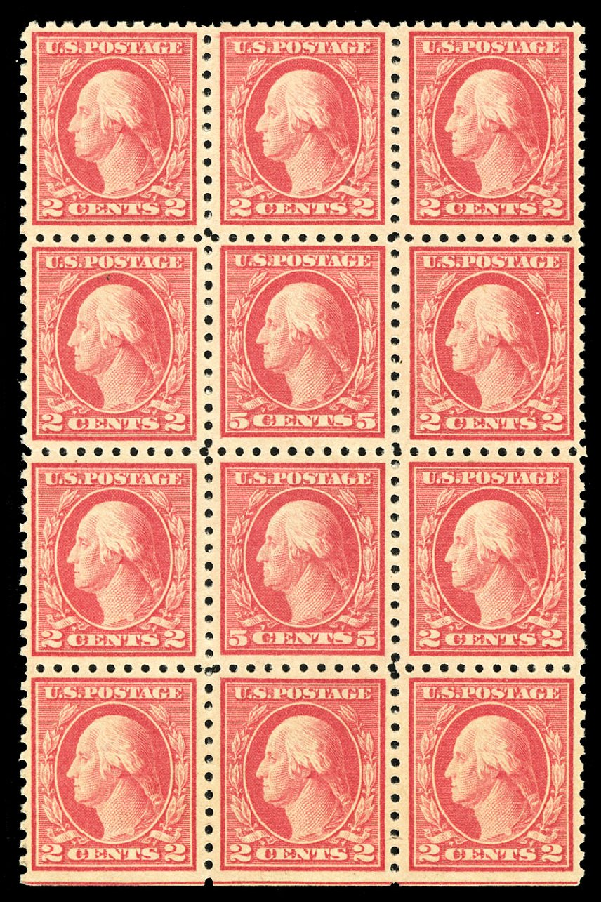 Price of US Stamps Scott # 467: 5c 1917 Washington Perf 10 error. Cherrystone Auctions, Jul 2015, Sale 201507, Lot 2161