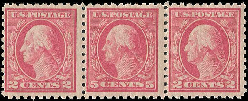 Price of US Stamp Scott Catalogue # 467: 5c 1917 Washington Perf 10 error. Regency-Superior, Aug 2015, Sale 112, Lot 865