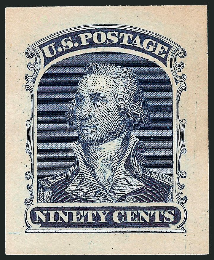 Value of US Stamp Scott Catalog # 47: 90c 1875 Washington Reprint. Robert Siegel Auction Galleries, Dec 2010, Sale 1000, Lot 1015