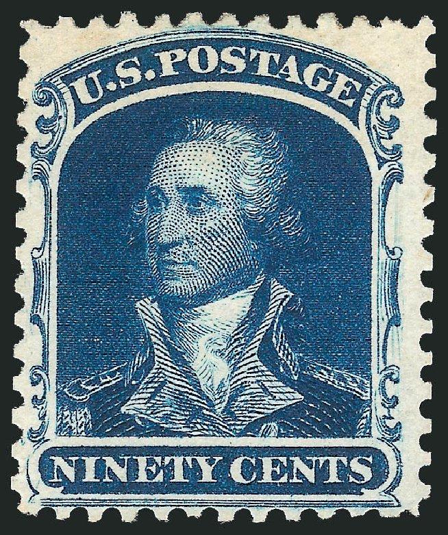 Price of US Stamp Scott Cat. 47 - 90c 1875 Washington Reprint. Robert Siegel Auction Galleries, Oct 2010, Sale 997, Lot 5325