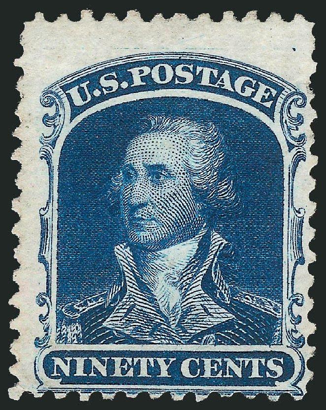 Prices of US Stamps Scott Catalogue # 47 - 90c 1875 Washington Reprint. Robert Siegel Auction Galleries, Oct 2010, Sale 997, Lot 5326