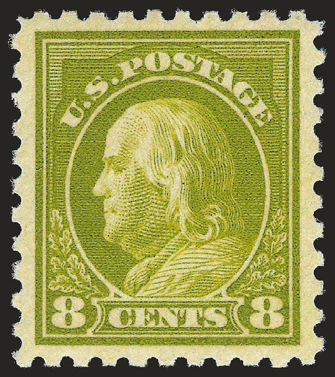 Price of US Stamps Scott Catalog #470: 8c 1916 Franklin Perf 10. Robert Siegel Auction Galleries, Apr 2010, Sale 984, Lot 903