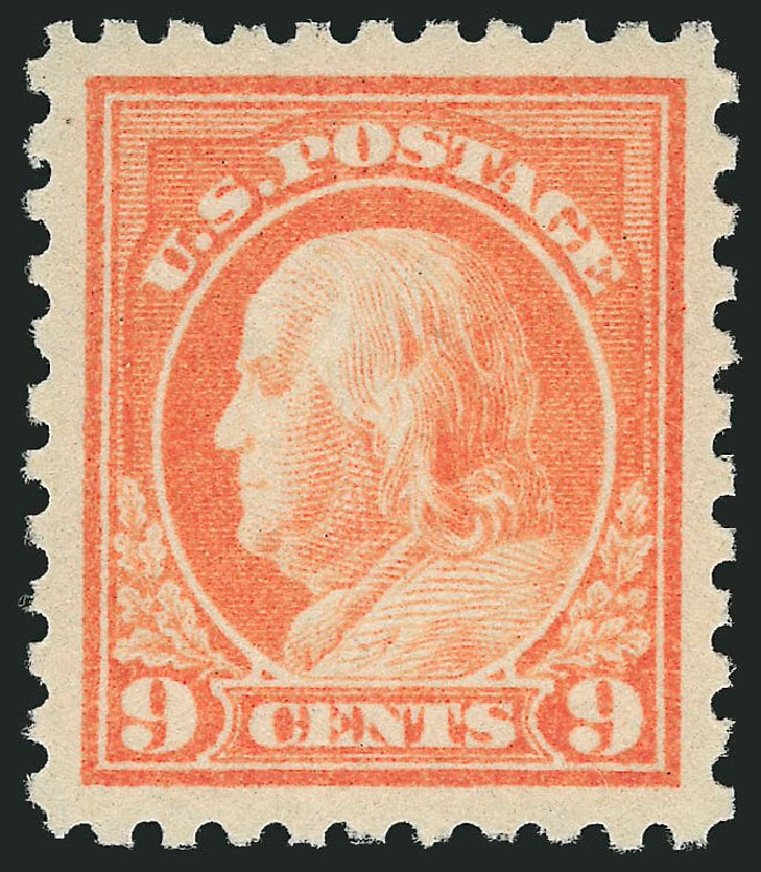Prices of US Stamps Scott Catalog # 471: 1916 9c Franklin Perf 10. Robert Siegel Auction Galleries, Feb 2015, Sale 1093, Lot 396