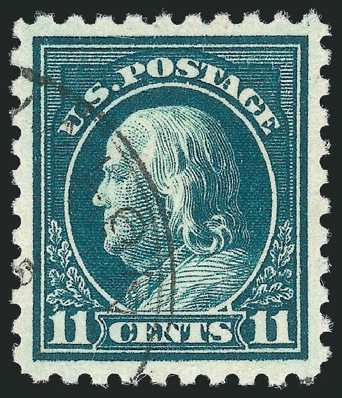 Costs of US Stamps Scott Catalog # 473 - 1916 11c Franklin Perf 10. Robert Siegel Auction Galleries, Oct 2012, Sale 1032, Lot 3569