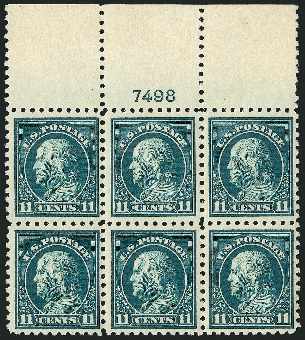 Costs of US Stamps Scott Catalog # 473: 11c 1916 Franklin Perf 10. Robert Siegel Auction Galleries, Feb 2015, Sale 1093, Lot 401
