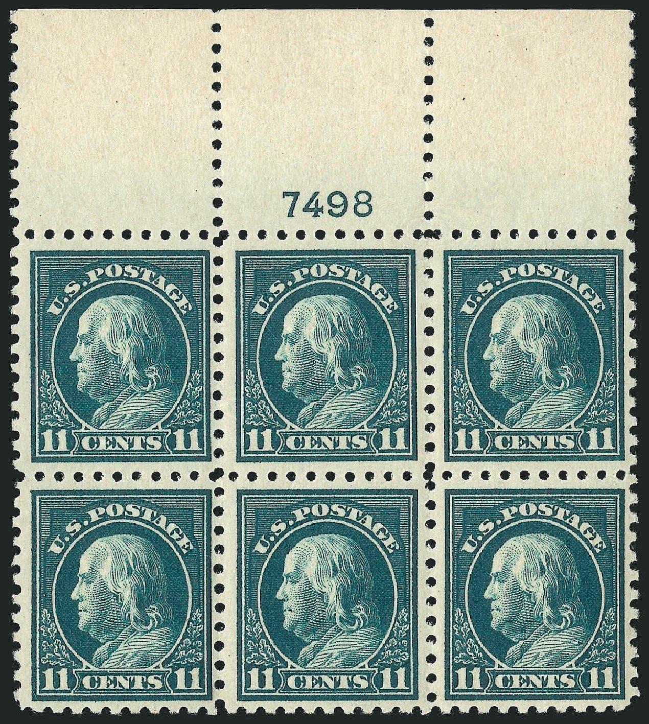Costs of US Stamps Scott Catalog # 473: 11c 1916 Franklin Perf 10. Robert Siegel Auction Galleries, Feb 2015, Sale 1093, Lot 401