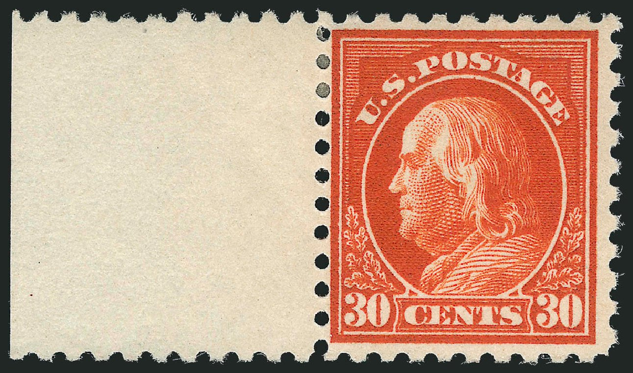 US Stamp Price Scott Catalogue 476A: 30c 1916 Franklin Perf 10. Robert Siegel Auction Galleries, Mar 2013, Sale 1040, Lot 1859