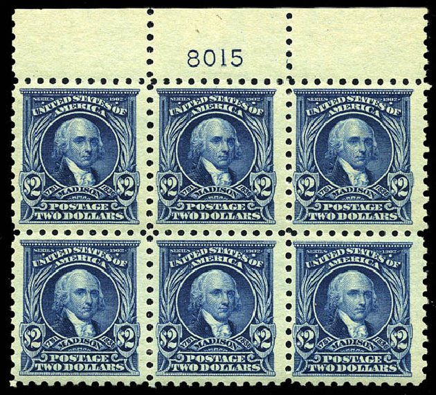 Cost of US Stamp Scott Catalog 479: US$2.00 1917 Madison Perf 10. Matthew Bennett International, May 2014, Sale 350, Lot 628