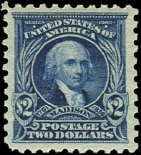 US Stamp Prices Scott Cat. 479: 1917 US$2.00 Madison Perf 10. Regency-Superior, Jan 2015, Sale 109, Lot 1268