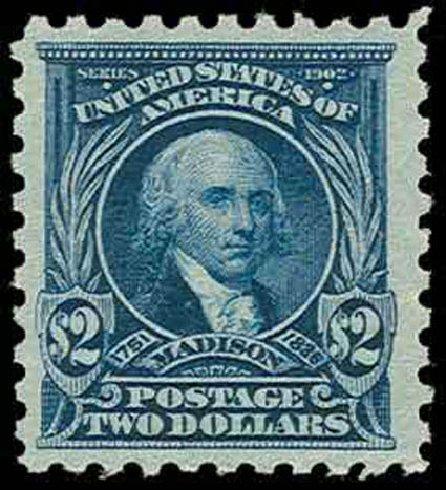 Value of US Stamps Scott Catalog 479 - US$2.00 1917 Madison Perf 10. H.R. Harmer, Nov 2013, Sale 3004, Lot 1279
