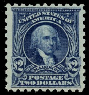 Costs of US Stamps Scott #479: US$2.00 1917 Madison Perf 10. Daniel Kelleher Auctions, May 2015, Sale 669, Lot 3069